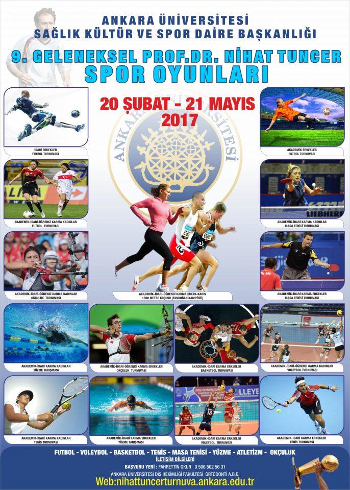 9.Geleneksel Prof.Dr.Nihat Tuncer Spor Oyunları