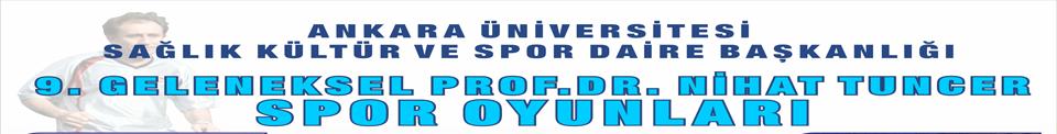 9. Geleneksel Prof. Dr. Nihat TUNCER Spor Oyunları